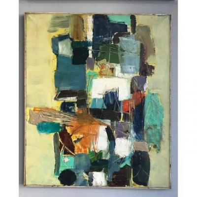 Irwin Crosthwait 1914 - 1981 Abstraction