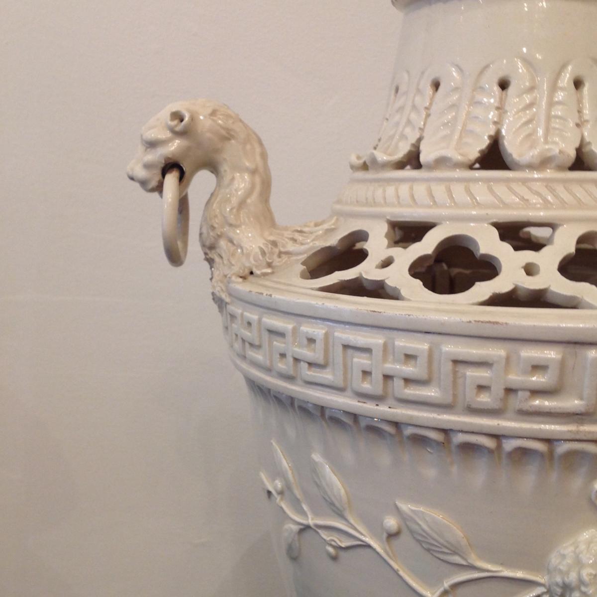 Important Vase Pot Pourri Fin 18ème Début 19ème