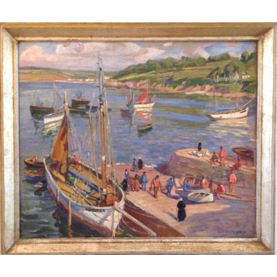 Retour De Pêche En Bretagne. Emmy Leuze Hirschfeld