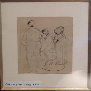 Elie Anatole Pavil, dessin