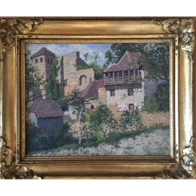 Pierre Labrouche (1876 - 1956) Landscape Of The Southwest,