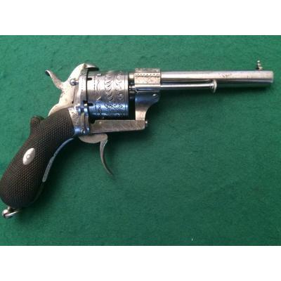 Spindle Revolver. Cal 9mm. System