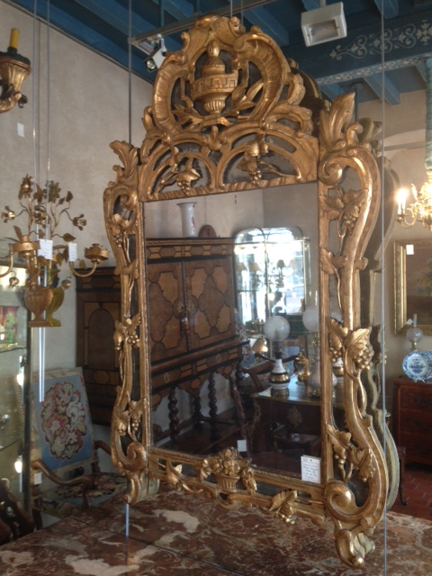 grande glace louis xv miroirs