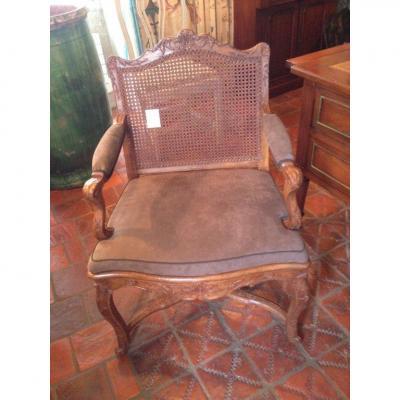 Paire de fauteuils Epoque Régence