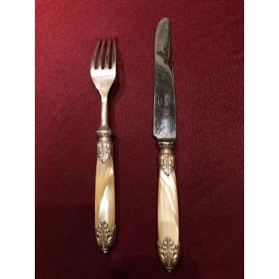 Suite de couteaux et fourchettes Maison Dîner en ville