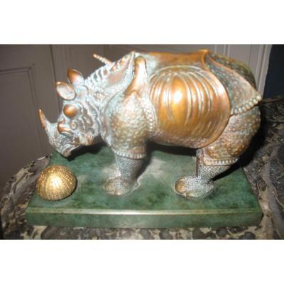 Bronze De Salvador Dali