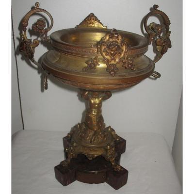 Coupe En Bronze 1860 Compagnie Des Bronziers De Bruxelles