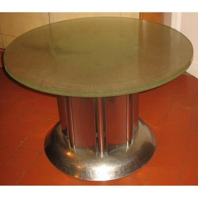 Table a manger Moderniste  Verre Saint Gobain