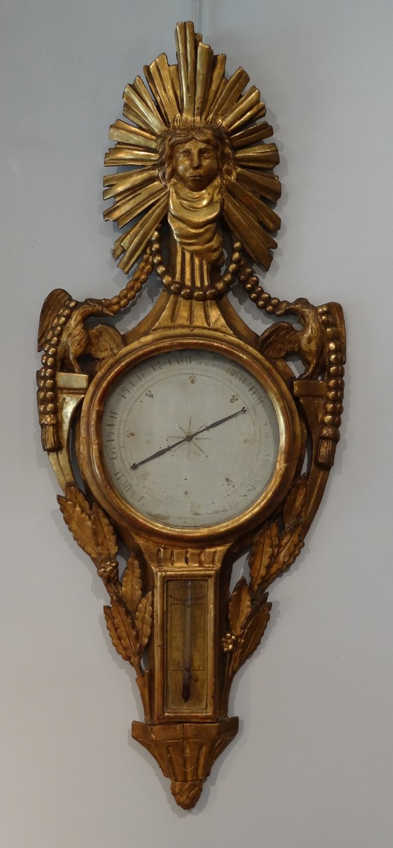 French Thermometer Barometer Louis XVI 18th Century