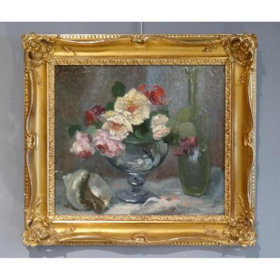Huile sur toile signée Jacques Martin (1844-1919)