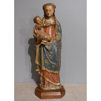 "Virgin And Child Known As The ""poupées De Malines"" Circa 1500-1520"