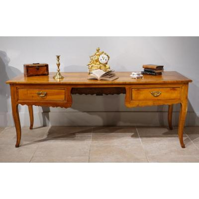 French Large Desk, Late 18th Century / Early 19th Century