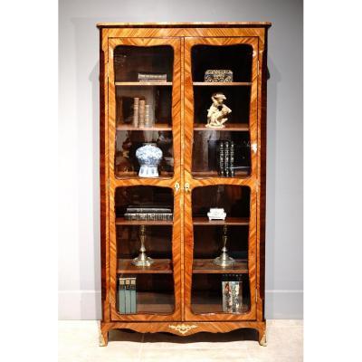 French Louis XV Library / Showcase, 18th Century