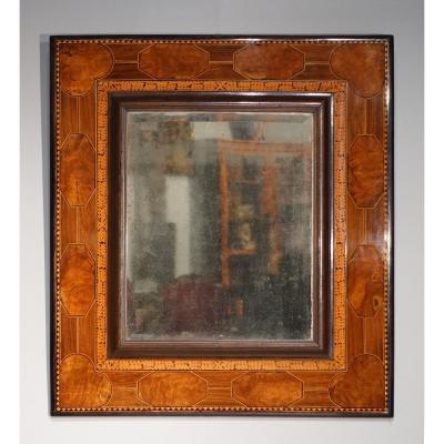 Miroir en marqueterie, travail du Languedoc, XVII°