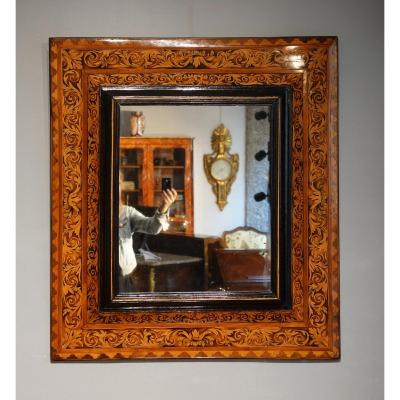 Miroir Marqueté Attribué à Thomas Hache Circa 1695