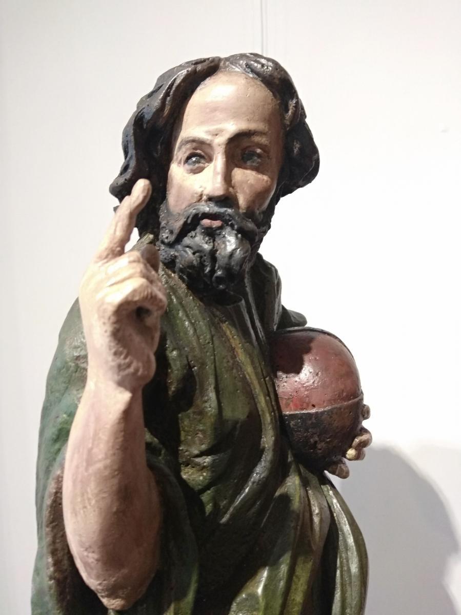 Salvatur Mundi, Sculpture Baroque