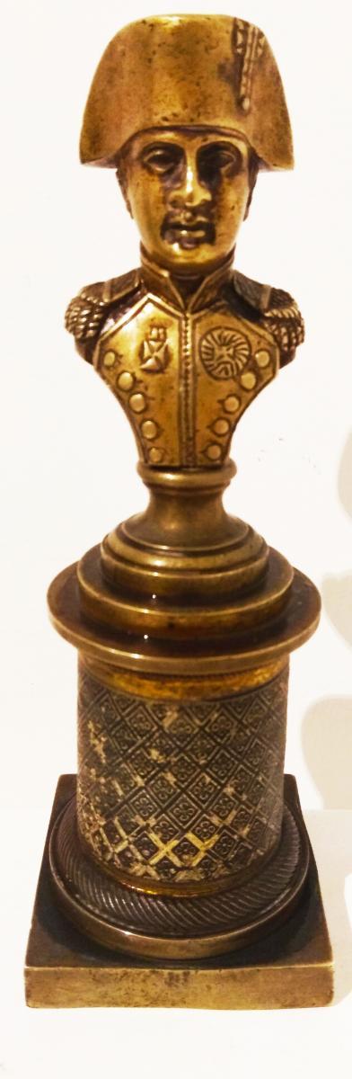 Napoléon En Bronze Doré d'époque Empire