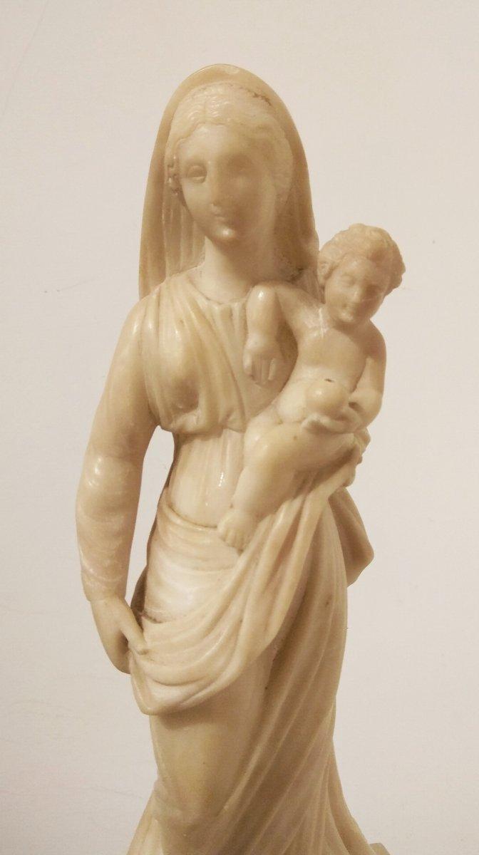Sculpture En Albâtre De -photo-3