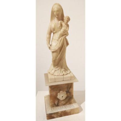 Sculpture En Albâtre De