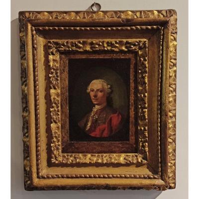 Portrait De Gentilhomme, Début Du XVIIIe Siècle