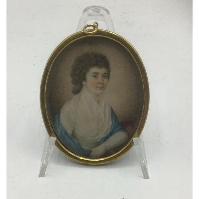 Miniature On Ivory