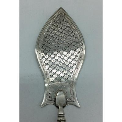 2nd Rooster Silver Fish Shovel, 1809-1819.