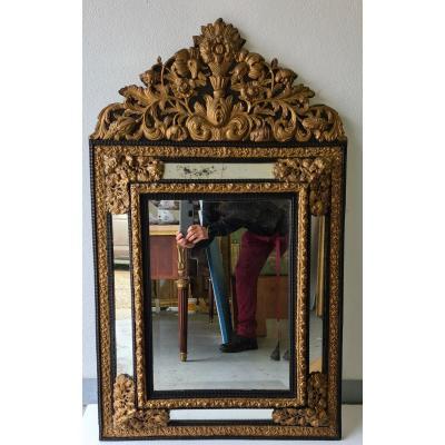 Louis XIII Style Parecloses Mirror