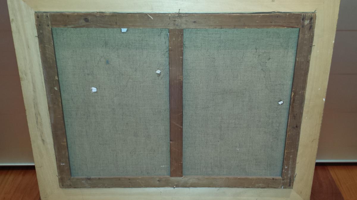 Paysage Vue Du Saint Leger De Peyre,signee En Bas A' Gauche Adrien Ouvrier Et Date' 1920-photo-2