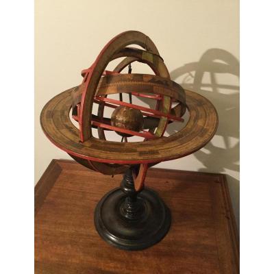 Grand Planétaire, sphere Armillaire Ptolémaïque De Louis Charles Desnos Epo XVIIIÉme