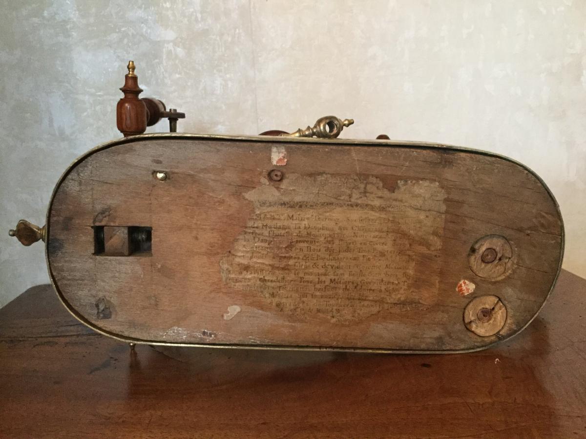 Rouet De Salon époque Louis XV étiquette Du Tabletier ......mart