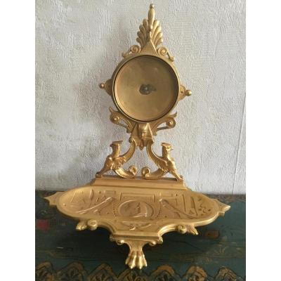 Gilt Bronze Door Watch Egyptian Decor