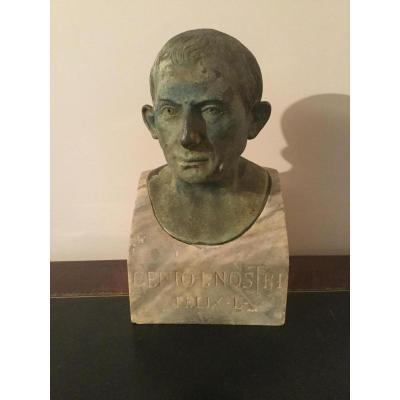 Cenio Nostri De Lucius Caecilius Jucundus Signé Chiurazzi