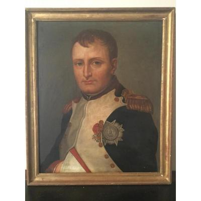 Portrait De L'empereur Napoléon 1er En Uniforme Des Grenadiers à Pied De La Garde