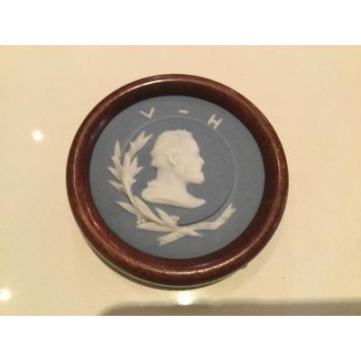 Thumbnail Profile Of Victor Hugo Sevres Biscuit