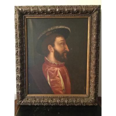 Portrait De François 1er Ancienne Collection Du Château De Chaumont Loir Et Cher