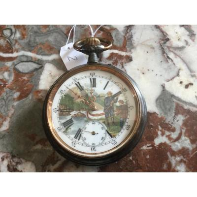 Monte Regulator Decor Fly Fisherman Early Twentieth Time