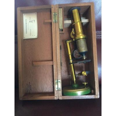 Microscope In Box Signed Radiguet