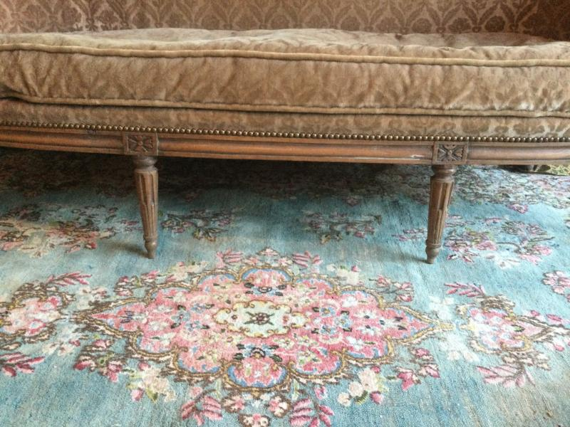 Basket Sofa With Cushion Stamped J.jb.demay Louis XVI Period-photo-3