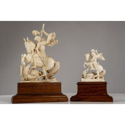 Two Ivory Sculptures