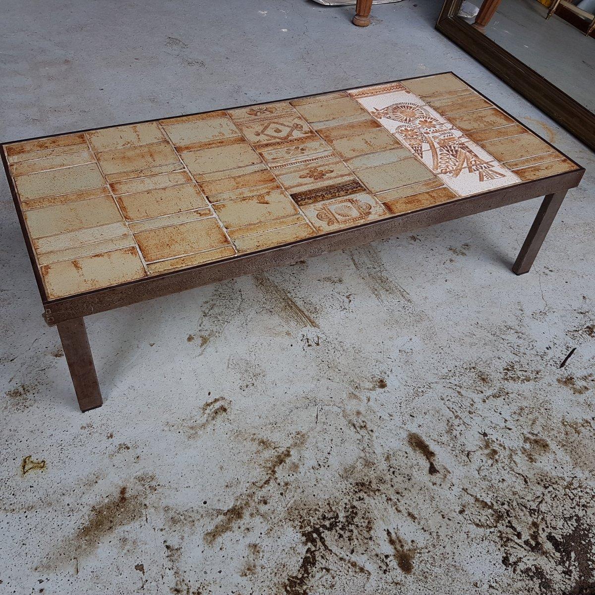 Table Basse Ceramique Capron