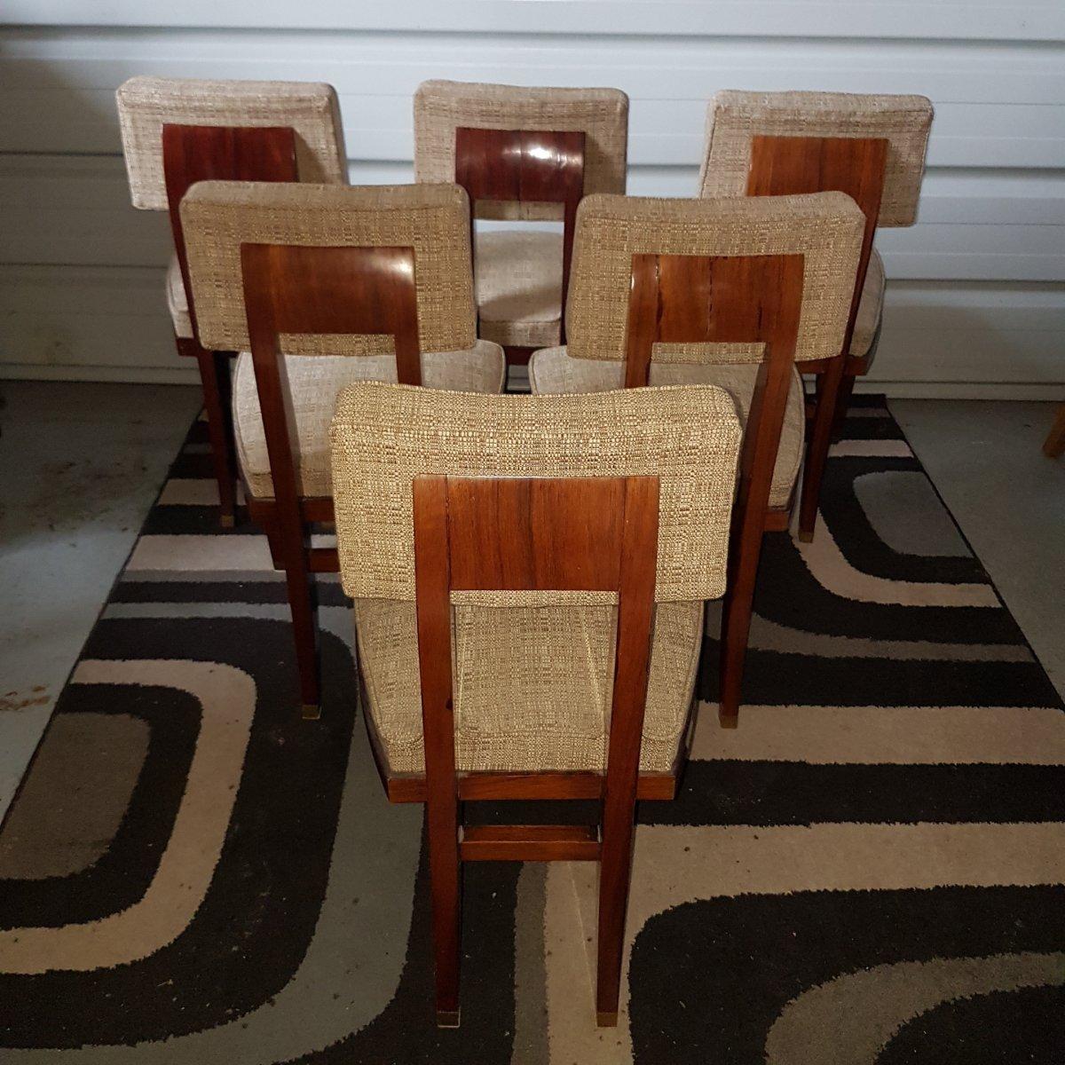 Chaise Art Deco-photo-4