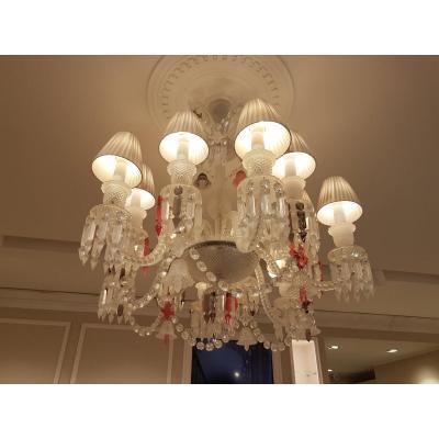 Set Of Lighting Baccarat Chandelier Wall Lamps