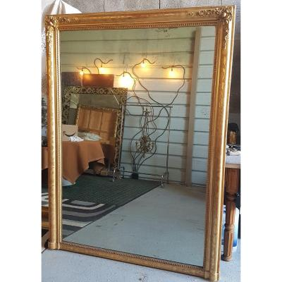 Louis Philippe Engraved Mirror