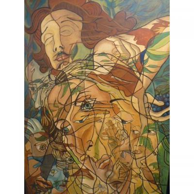 Picabia Par David Stein, Plus Grand Faussaire Du XXe, Grande Huile,