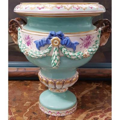 Grand vase En Porcelaine Fin XIXe