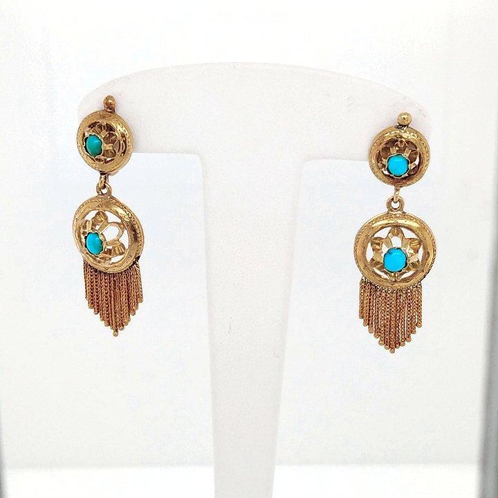 Pair Of Napoleon III Earrings