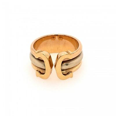 Cartier 3 Ors Ring Model Double C