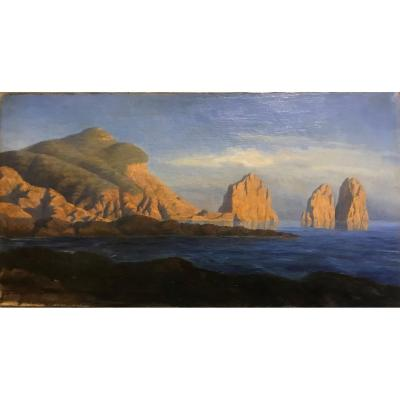 Vh - View From Capri- 1921