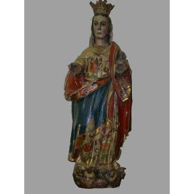 Vierge Polychrome