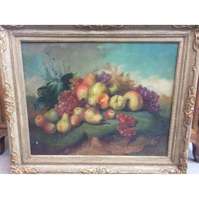 F. DE LA ROCHE (début du XXème siècle) : composition de frui